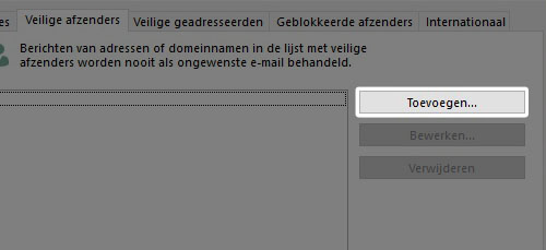 knop toevoegen outlook 2007, outlook 2010 en outlook 2013